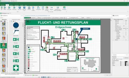 Produktbild zur Software Fluchtplan 2020
