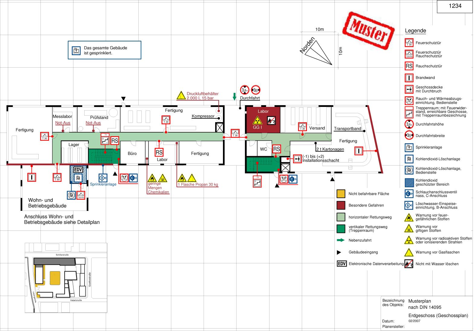 Erstellung Von Feuerwehrplanen Physikburo Seeger 6