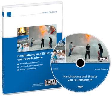 Produktbild Schulungsfilm Handhabung und Einsatz von Feuerlöschern