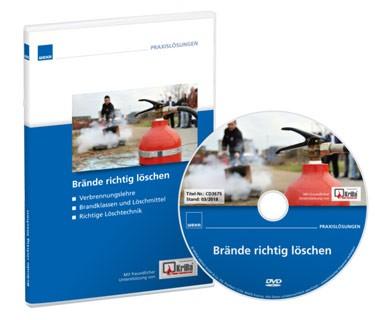 Produktbild Unterweisungsfilm Brände richtig löschen bei Fluchtplan24.de