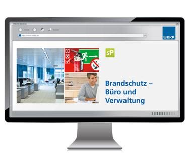 Produktbild Fluchtplan24.de - Sicherheitsunterweisung Brandschutz - Büro und Verwaltung